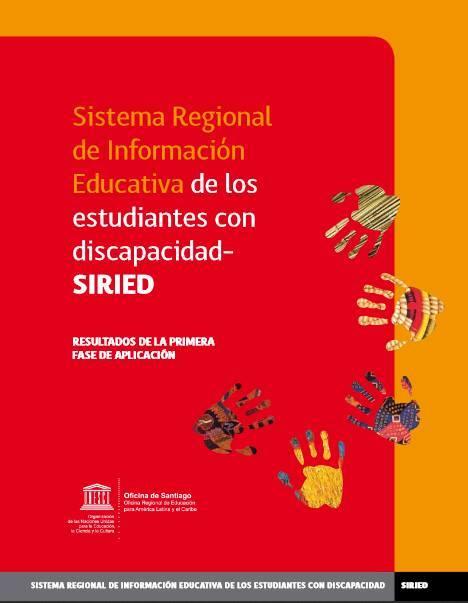 Resultados de la primera aplicación de SIRIED, 2013