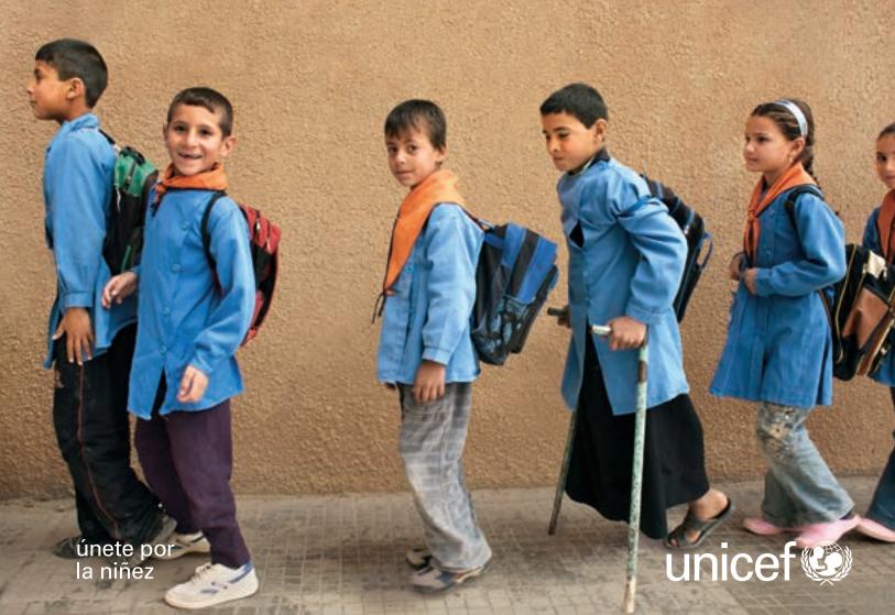 El Estado Mundial de la Infancia: niños y niñas con discapacidad