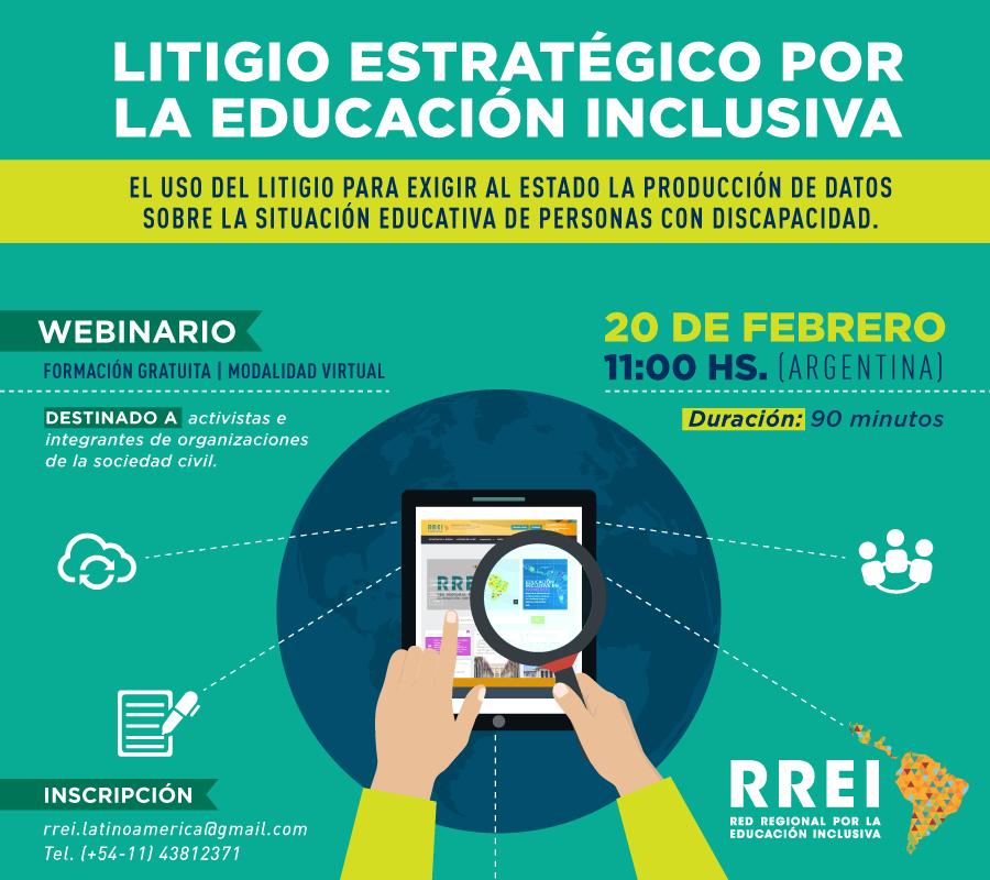Seminario en línea: Litigio estratégico por la Educación Inclusiva