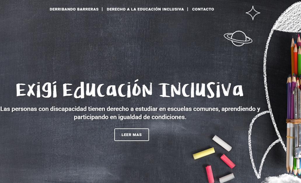 Argentina: Lanzan sitio web para exigir educación inclusiva