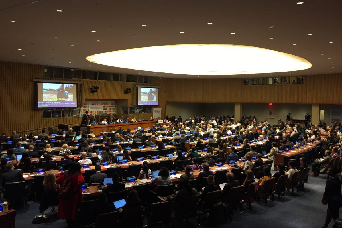 Participamos de la revisión del ODS 4 ante el Foro Político de Alto Nivel