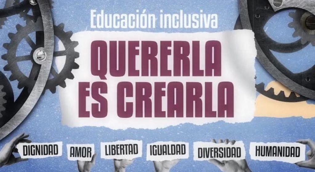 """Lanzan la campaña """"Quererla es crearla"""" en defensa de la educación inclusiva"""