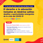 Evento paralelo sobre educación inclusiva en el marco de la COSP